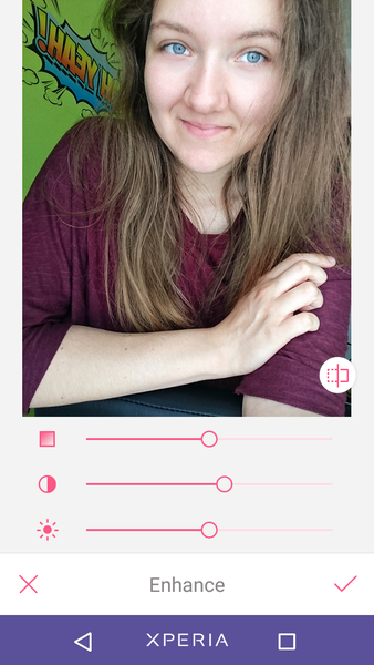 praktische Fotografie-Apps: Beauty Plus Screenshot