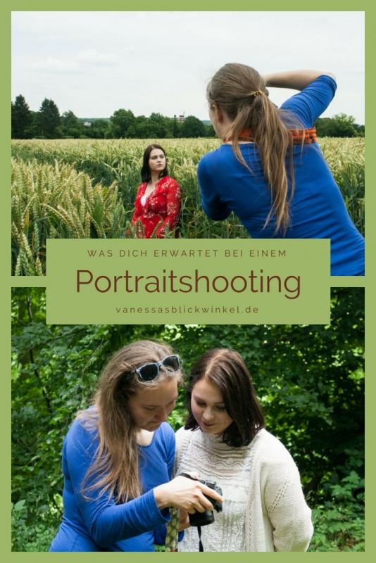 Pinterest-Grafik: Ablauf eines Portraitshootings bei Blickwinkel Fotografie Vanessa von Wieding, einer Fotografin in Emmerthal bei Hameln
